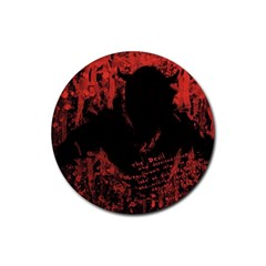 Tormented Devil Rubber Drinks Coaster (Round)