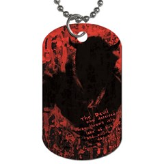 Tormented Devil Twin-sided Dog Tag