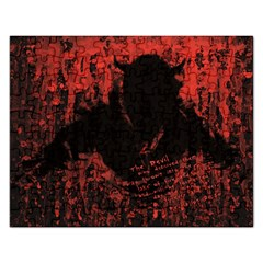 Tormented Devil Jigsaw Puzzle (Rectangle)