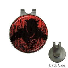 Tormented Devil Hat Clip with Golf Ball Marker