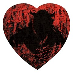 Tormented Devil Jigsaw Puzzle (Heart)