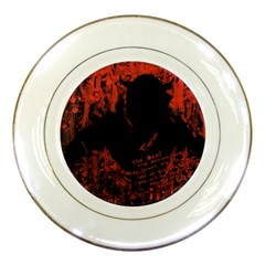 Tormented Devil Porcelain Display Plate