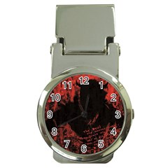 Tormented Devil Chrome Money Clip with Watch