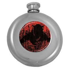 Tormented Devil Hip Flask (Round)