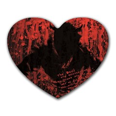 Tormented Devil Mouse Pad (heart)