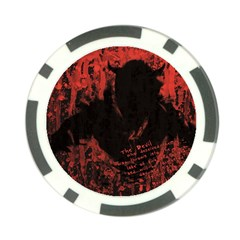 Tormented Devil Poker Chip