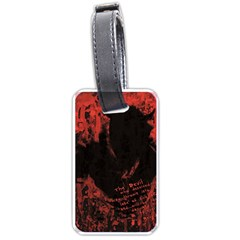Tormented Devil Single-sided Luggage Tag