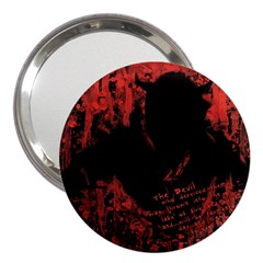 Tormented Devil 3  Handbag Mirror
