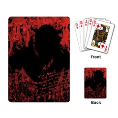 Tormented Devil Standard Playing Cards