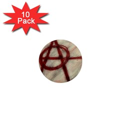 Anarchy 10 Pack Mini Magnet (round)