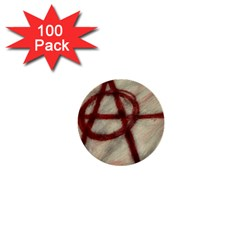 Anarchy 100 Pack Mini Button (round)