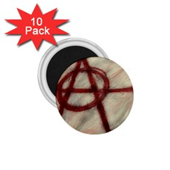 Anarchy 10 Pack Small Magnet (Round)