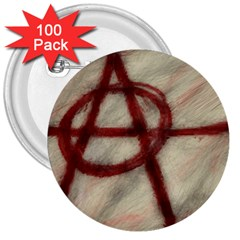 Anarchy 100 Pack Large Button (Round)