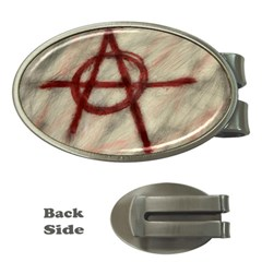 Anarchy Money Clip (Oval)