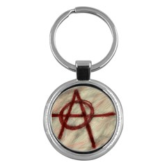 Anarchy Key Chain (Round)