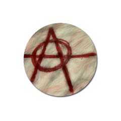 Anarchy Large Sticker Magnet (round)