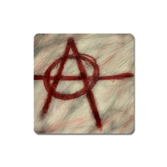 Anarchy Large Sticker Magnet (Square)