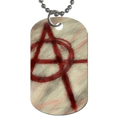 Anarchy Twin-sided Dog Tag