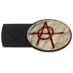 Anarchy 1Gb USB Flash Drive (Oval)