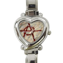 Anarchy Classic Elegant Ladies Watch (Heart)