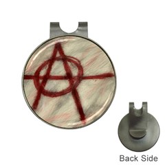 Anarchy Hat Clip with Golf Ball Marker