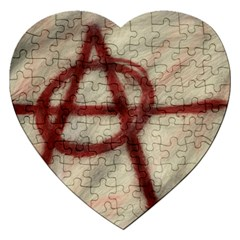 Anarchy Jigsaw Puzzle (Heart)