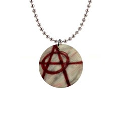 Anarchy Mini Button Necklace