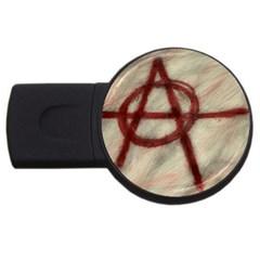 Anarchy 4Gb USB Flash Drive (Round)