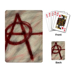 Anarchy Standard Playing Cards
