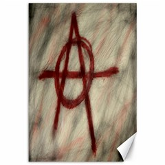 Anarchy 12  X 18  Unframed Canvas Print