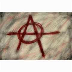 Anarchy 16  X 20  Unframed Canvas Print
