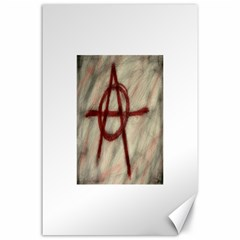 Anarchy 24  x 36  Unframed Canvas Print