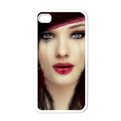 Beautiful Mess White Apple Iphone 4 Case