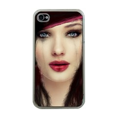 Beautiful Mess Apple iPhone 4 Case (Clear)