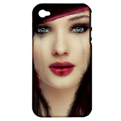 Beautiful Mess Apple Iphone 4/4s Hardshell Case (pc+silicone)
