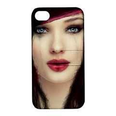 Beautiful Mess Apple Iphone 4/4s Hardshell Case With Stand