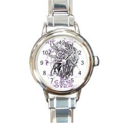 Game Over Classic Elegant Ladies Watch (Round)