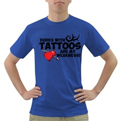 Dudes with Tattoos Colored Mens'' T-shirt