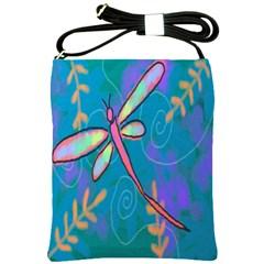 Summer Dragonfly Shoulder Bag Cross Shoulder Sling Bag