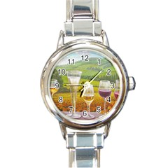 vine Classic Elegant Ladies Watch (Round)