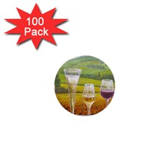 vine 100 Pack Mini Button (Round)