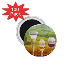vine 100 Pack Small Magnet (Round)