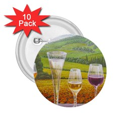 Vine 10 Pack Regular Button (round)