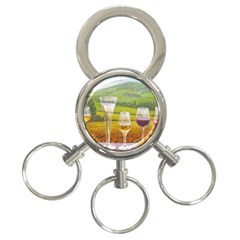 vine 3-Ring Key Chain