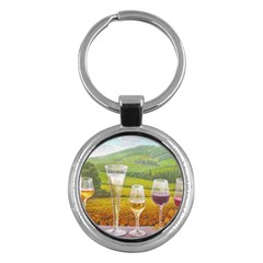 vine Key Chain (Round)
