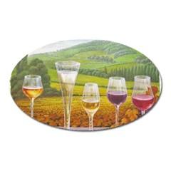 Vine Large Sticker Magnet (oval)