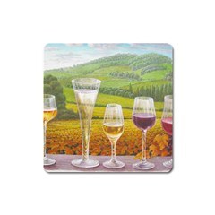 vine Large Sticker Magnet (Square)