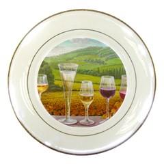 vine Porcelain Display Plate
