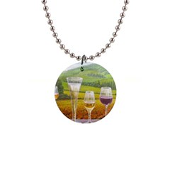 vine Mini Button Necklace