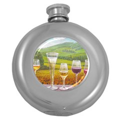vine Hip Flask (Round)
